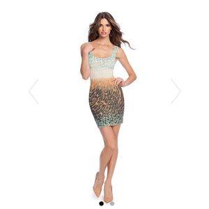 Marciano Dresses & Skirts - Marciano Fade Away Leopard Tank Dress
