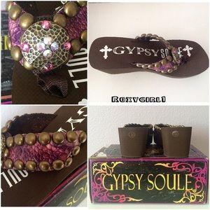 f45cf03c6ecf98 Gypsy Soule Shoes - Gypsy Soul Embellished Sandals