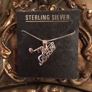 Jewelry - NEW!!! STERLING SILVER NECKLACE