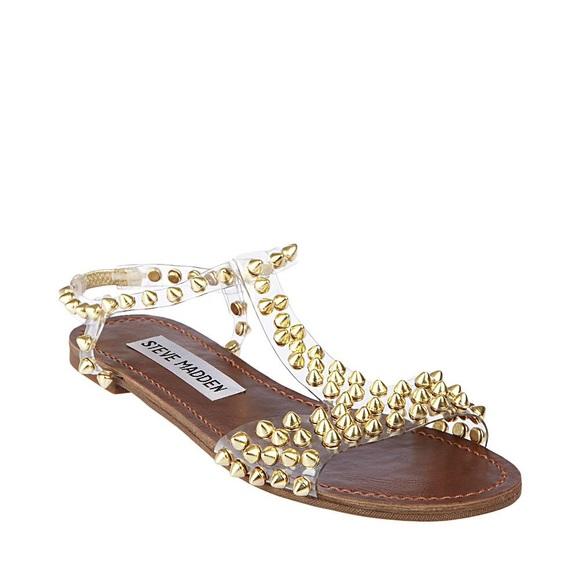 Steve Madden Shoes Studded Jelly Sandals Poshmark