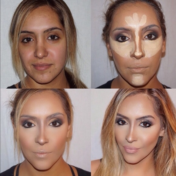 86% off Other - Professional Makeup Contour Cream Palette from ...