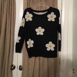 Daisy sweater!