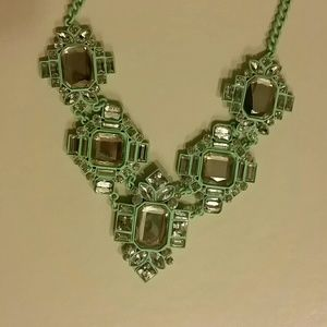 Baublebar Jewelry - Bauble Bar Orbitor Bib Statement Necklace Mint