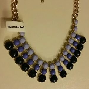 baublebar  Jewelry - Baublebar Ombre bubble Bib Statement Necklace NWT