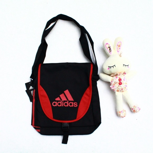 739e74b17dd4 Adidas Small Crossbody bag Black NWT