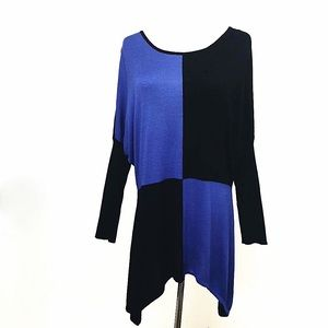 Missoni  Dresses & Skirts - VINTAGE MISSONI COLOR BLOCK KNIT DRESS M