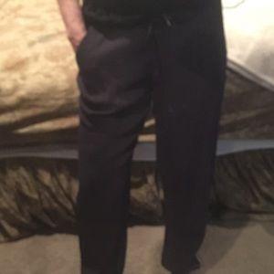 Monrow Pants - Paper bag waist slouchy pants