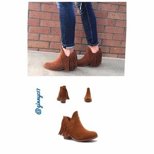 Qupid Shoes - Boho PERFECT Fringed Bootie