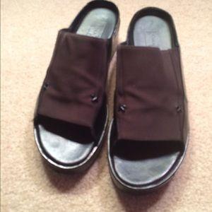 Brown Cole Haan Spandex Sandals Sz 7.5