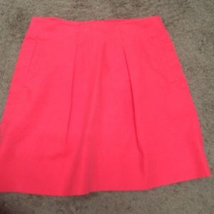 Pleated J. Crew skirt with pockets