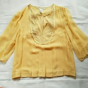 Vintage inspired DVF blouse