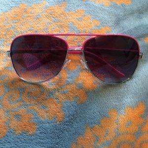 Accessories - Pink  Aviator Sunglasses