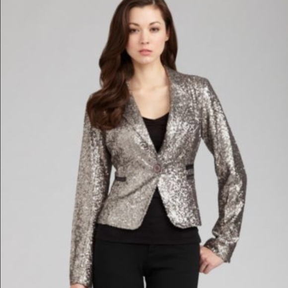 a68968ff Miss Me Jackets & Coats | Final Price New Sequin Blazer | Poshmark
