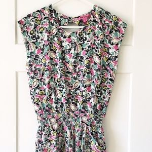 Betsey Johnson Other - Betsey Johnson Open Back Romper With Pockets