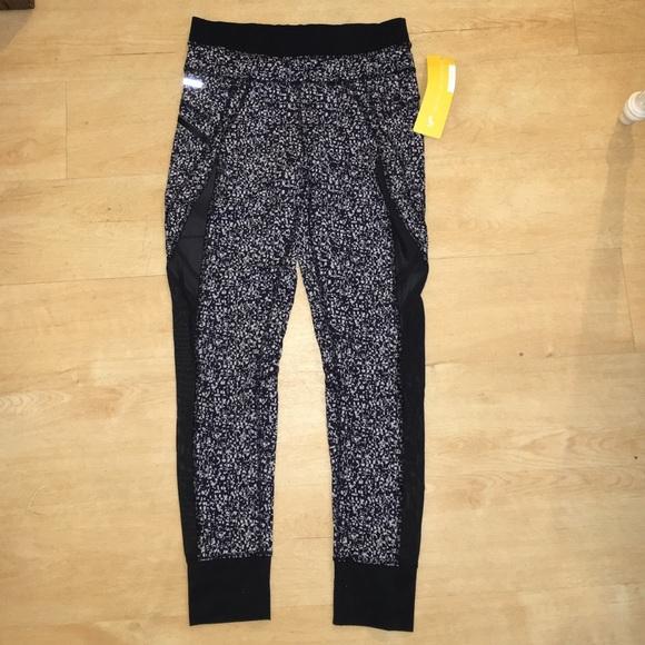 7e007fb30ed4bf Lole Pants   Nwt Workout Spandex Leggings With Mesh Cutouts   Poshmark