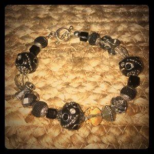 Jewelry - New! Black and Silver Bracelet