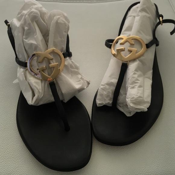 f714d7dcae1d Gucci Shoes - Gucci ELLESMERE - thong flat