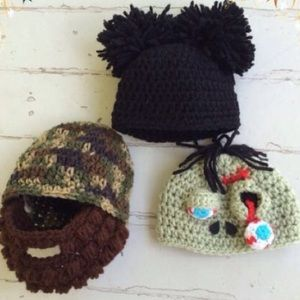 Other - 💲ALE🍭Cute & Funny Baby's 3-6 Months Hat Bundle🍭