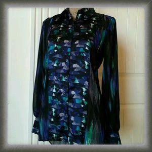 Kirna Zabete Tops - My royal rich jewel tone colored blouse