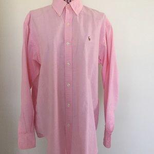 Ralph Lauren pink Oxford.