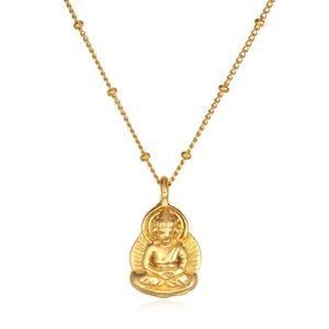 Satya Jewelry Jewelry - Satya Buddha Necklace Gold