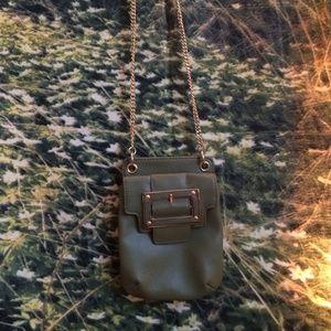 Liz Clairborne green mini crossbody bag NWOT