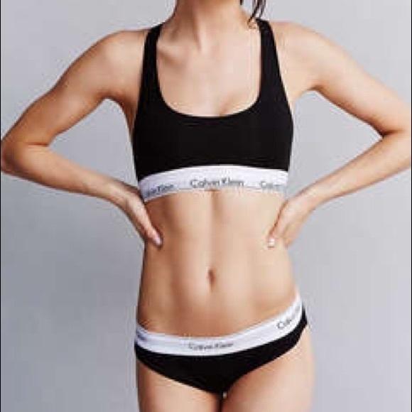 Black Calvin Klein Underwear Set