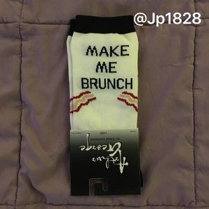 1 Pair Left!!💥NWT Arthur George Brunch Crew Socks