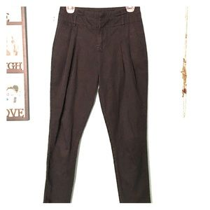 Audrey 3+1 Pants - Black high waisted jogger like pants