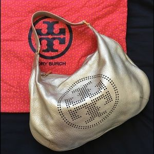 Tory Burch Handbags - Tory Burch perforated logo hobo