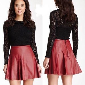 Walter Baker Dresses & Skirts - Leather skirt