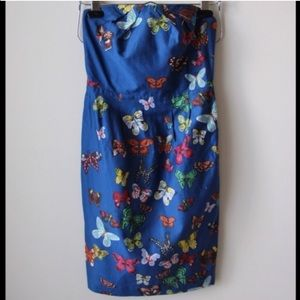 Anthropologie butterfly dress