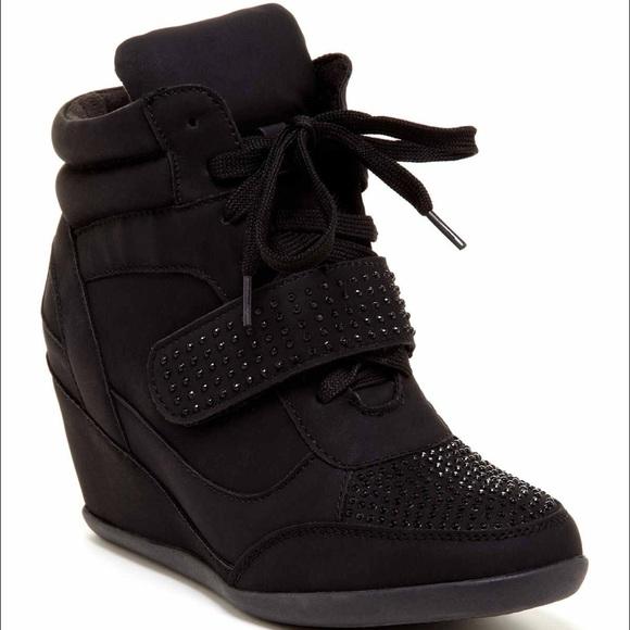 4f1d22b007b ... wedge sneakers w rhinestones. M 5734c5a5f0137ddb0900d55c