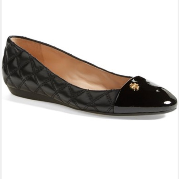6710378aad91 Tory Burch Claremont Black Quilted Flats Shoes 7. M 5727d67e78b31c361f00da79