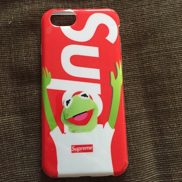 new arrival f3d8a fca5a Supreme Kermit The Frog iPhone 6 phone case