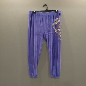 VS pink sequined pants