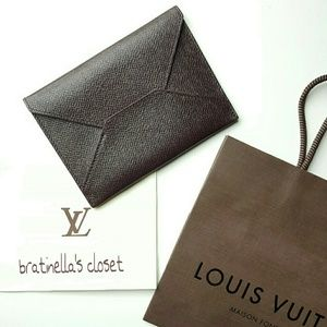 "LOUIS VUITTON ""EDITION SPECIALE"" LETTER ENVELOPE"