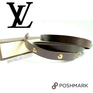 LV BELT STRAP for DE POCHETTE FLORENTINE