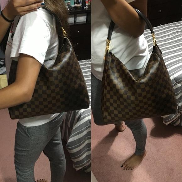 550229a32471 Louis Vuitton Handbags - Louis Vuitton Damier Ebene Portobello PM