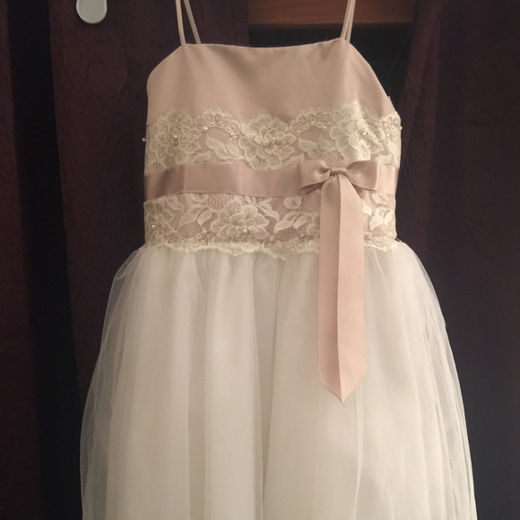 e30a20bfaf8 NWT GORGEOUS David s bridal 2T flower girl dress