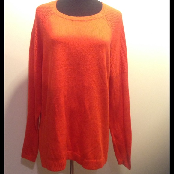 73% off Old Navy Sweaters - NWT Old Navy Orange Sweater from Ash's ...