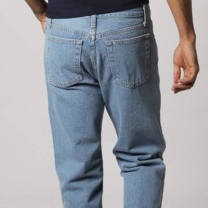 iso!! american apparel regular fit 100 jeans