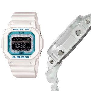 Casio Accessories - White Shock & Water Resistant Sport Watch