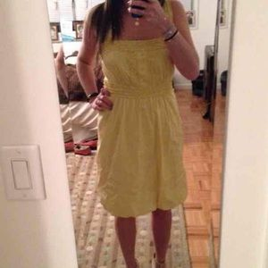 NWT BCBG MAX AZRIA YELLOW SUMMER DRESS