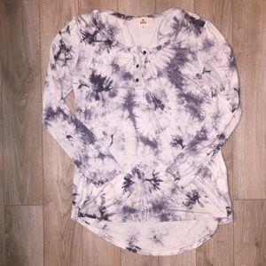 Tops - Pink Republic tie dye style long sleeve tshirt