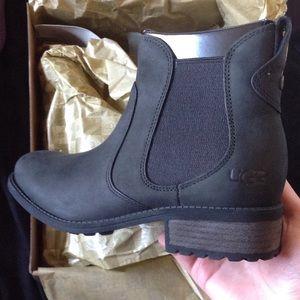 ugg brown bonham boots