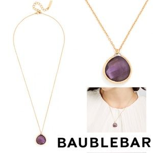 🎉HP!🎉NWT Baublebar Amethyst Colored Necklace