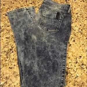 Black Orchid Jeans - Acid Wash