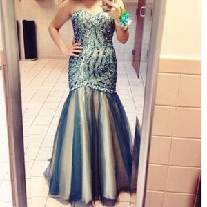 Prom dress ball gown mermaid homecoming wedding