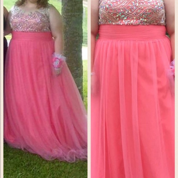 Sydneys Closet Dresses Size 24 Prom Dress Poshmark